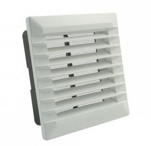 (Aventa) решетка пластична ѕидна со клопни и отвор