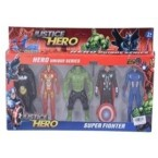 SET SUPER HERO NMKJ862009 - 019625