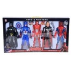 SET SUPER HERO NMKJ693664 - 019621