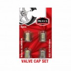 AIR VALVE CAPS ALU 4/1 - 098852