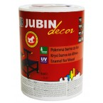 (Jubin decor) лак - боја / бел 0.65L (JUB)