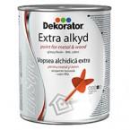 (Extra Alkyd) Боја 0.75L (Dekorator)