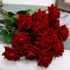 ARTIFICIAL FLOWERS ROSES 10 45 V254