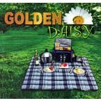 Чаршаф за пикник 140x160cm Golden daisy