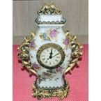 Керамичка вазна со часовник V-334