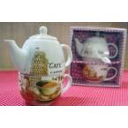 Чајник со шоља V-198