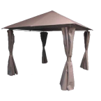 TENT WITH METAL 3.3M, HEIGHT 2.60M BEIGE - 007212