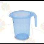 PLASTIC JAR WITH SLEEVE - 593658