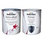 Алкидна основна црна / сива боја 2.5L (Dekorator)