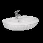 Yaprak мијалник со пиедестал 60 cm 007300-u