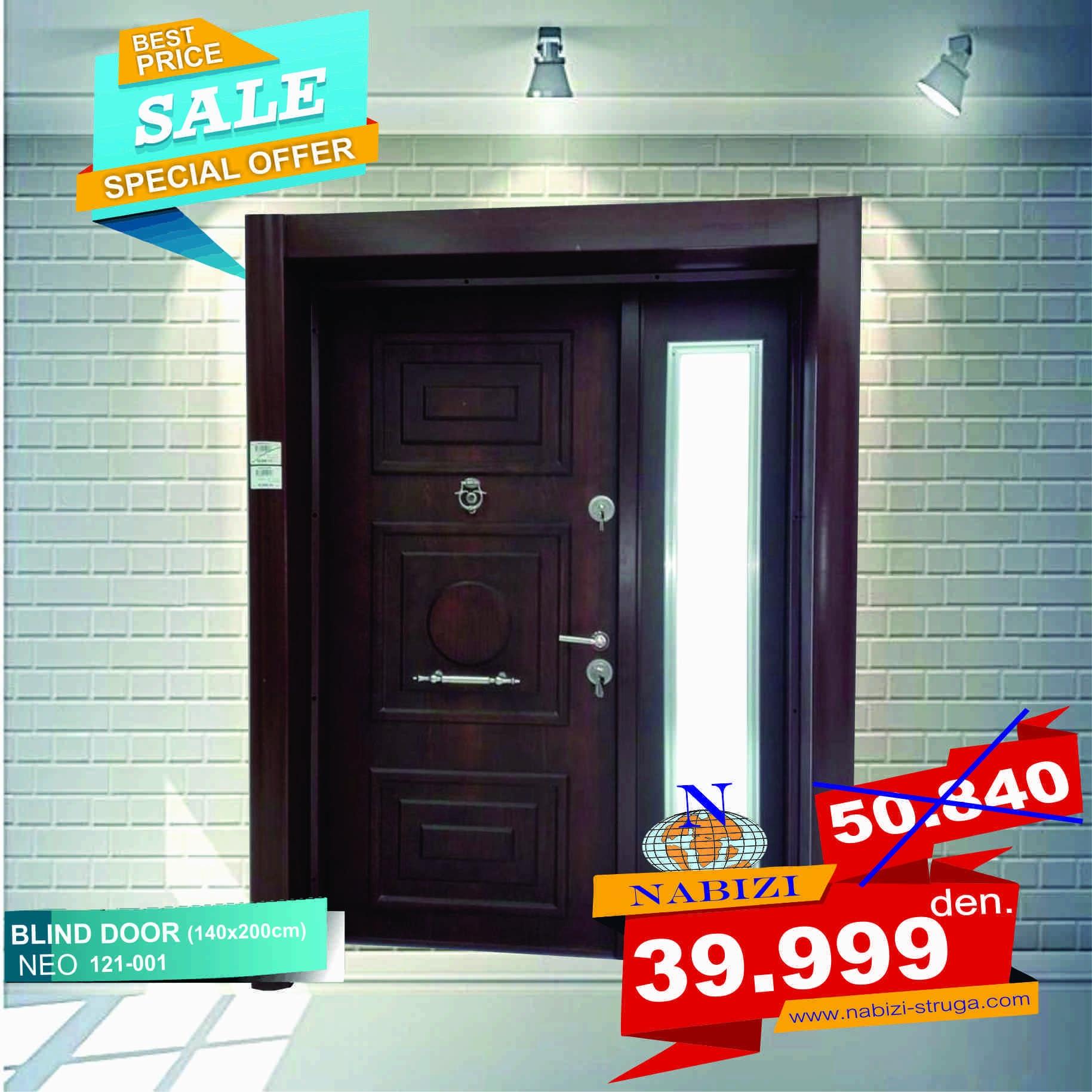 BLIND DOOR 140x200cm