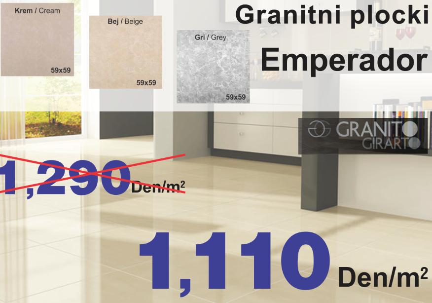 GRANITNI PLOCKI EMPERADOR