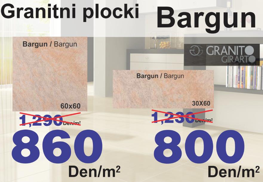 GRANITNI PLOCKI BARGUN