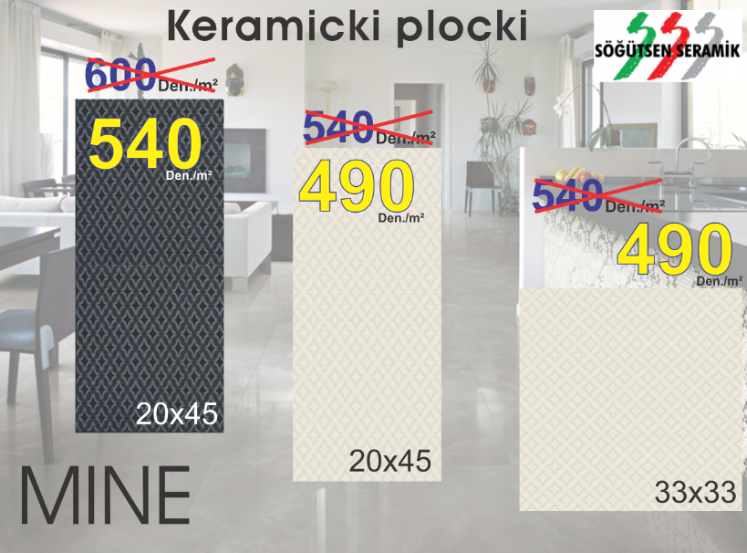 KERAMICKI PLOCKI MINE